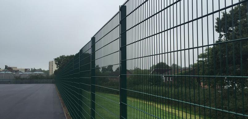 Sports fencing installation Birmingham